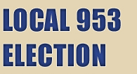 Local 953 Election