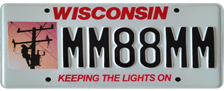 Keeping the Lights on License Plate