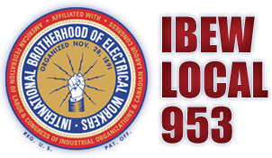 IBEW Local 953 - International Brotherhood of Electrical Workers